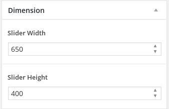 Sidebar-Dimension