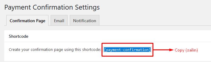 plugin konfirmasi pembayaran