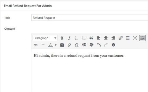 email refund to admin en